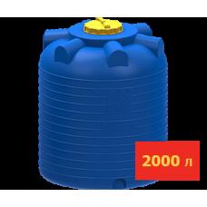 Емкость цилиндрическая 2000 литров