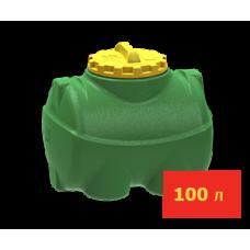 Емкость горизонтальная цилиндрическая 100 литров