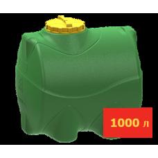 Емкость горизонтальная цилиндрическая 1000л