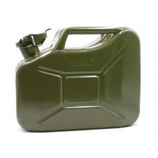 Канистра стальная 10 литров (металл 0,8 мм)