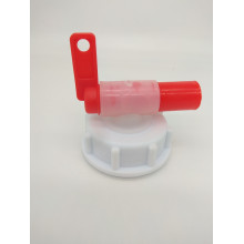 Краник пластиковый с крышкой DIN 51