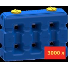 Емкость прямоугольная 3000 литров