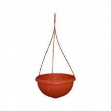 """Горшок-кашпо подвесной """"Джулия"""" 3,5 л (коричневый) М 1608"""