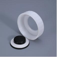 Крышка для крана 80 мм с прокладкой, разборная