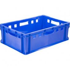 Ящик для мяса и колбасных изделий Е - 2 пластиковый, синий
